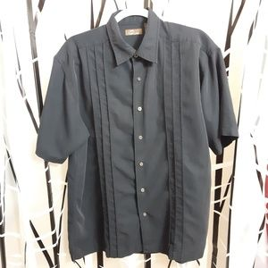 Cafe Luna Short Sleeve Button Up Shirt